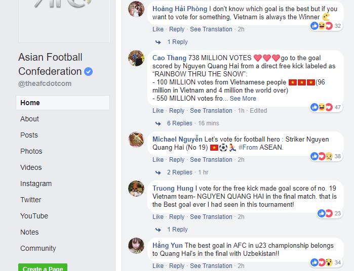 U23 Uzbekistan vô địch nhưng U23 Việt Nam mới được fanpage AFC chọn để ảnh đại diện link bàn thắng đẹp nhất - Ảnh 4.