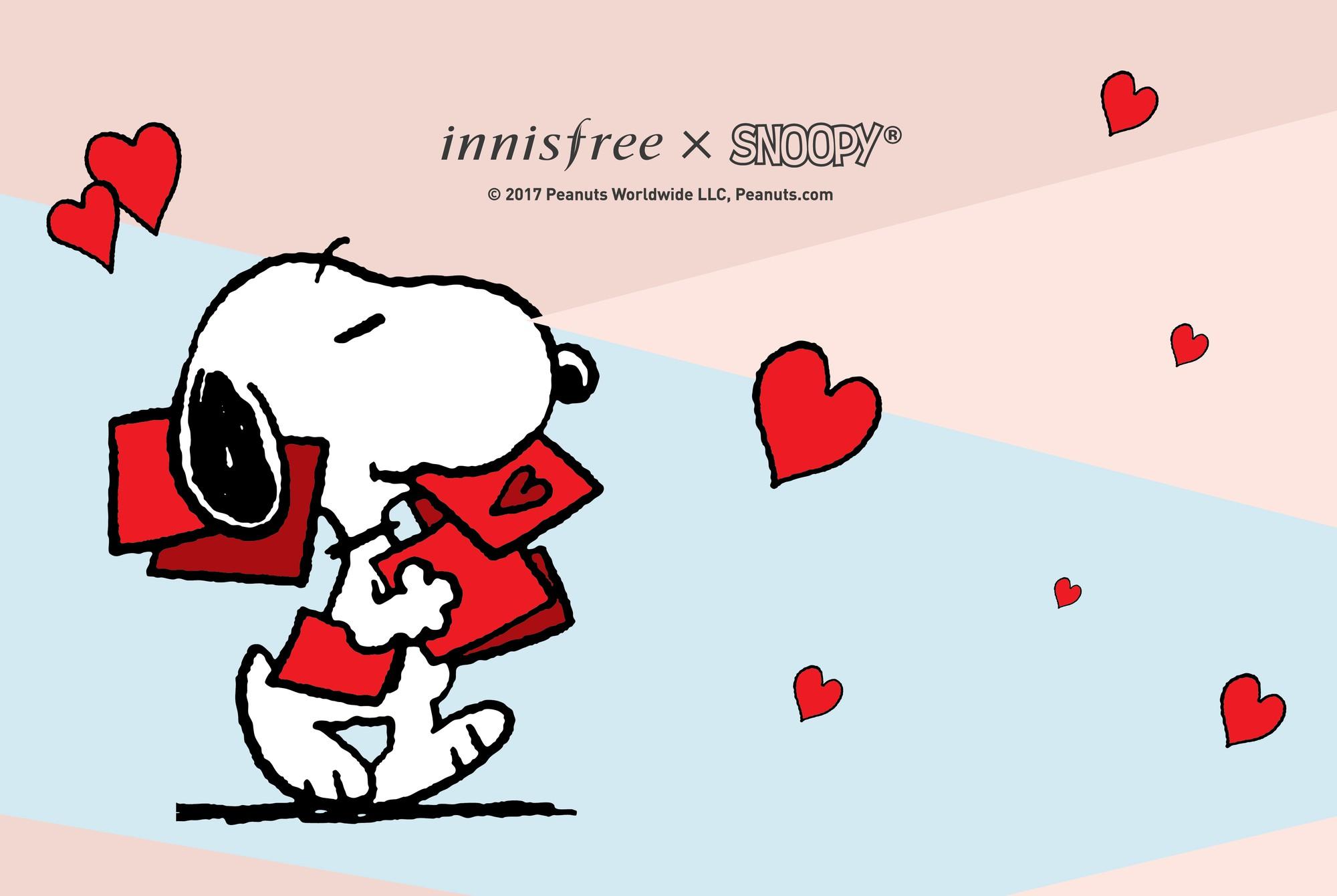 �ล�าร���หารู��า�สำหรั� Innisfree Snoopy Limited Edition No Sebum Mineral Powder Love More 5g