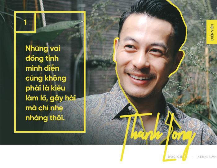 Trương Thanh Long: Tôi nghiêm túc xem diễn xuất là một nghề và đầu tư cho nó, nhưng đó chỉ là công việc part-time - Ảnh 1.