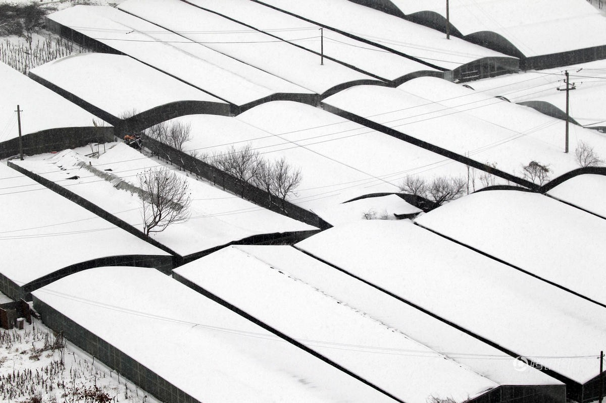 Cảnh tượng lạnh đầy khắc nghiệt tại Trung Quốc: Chị em phụ nữ quấn chăn, bịt kín lái xe máy đi làm - Ảnh 16.
