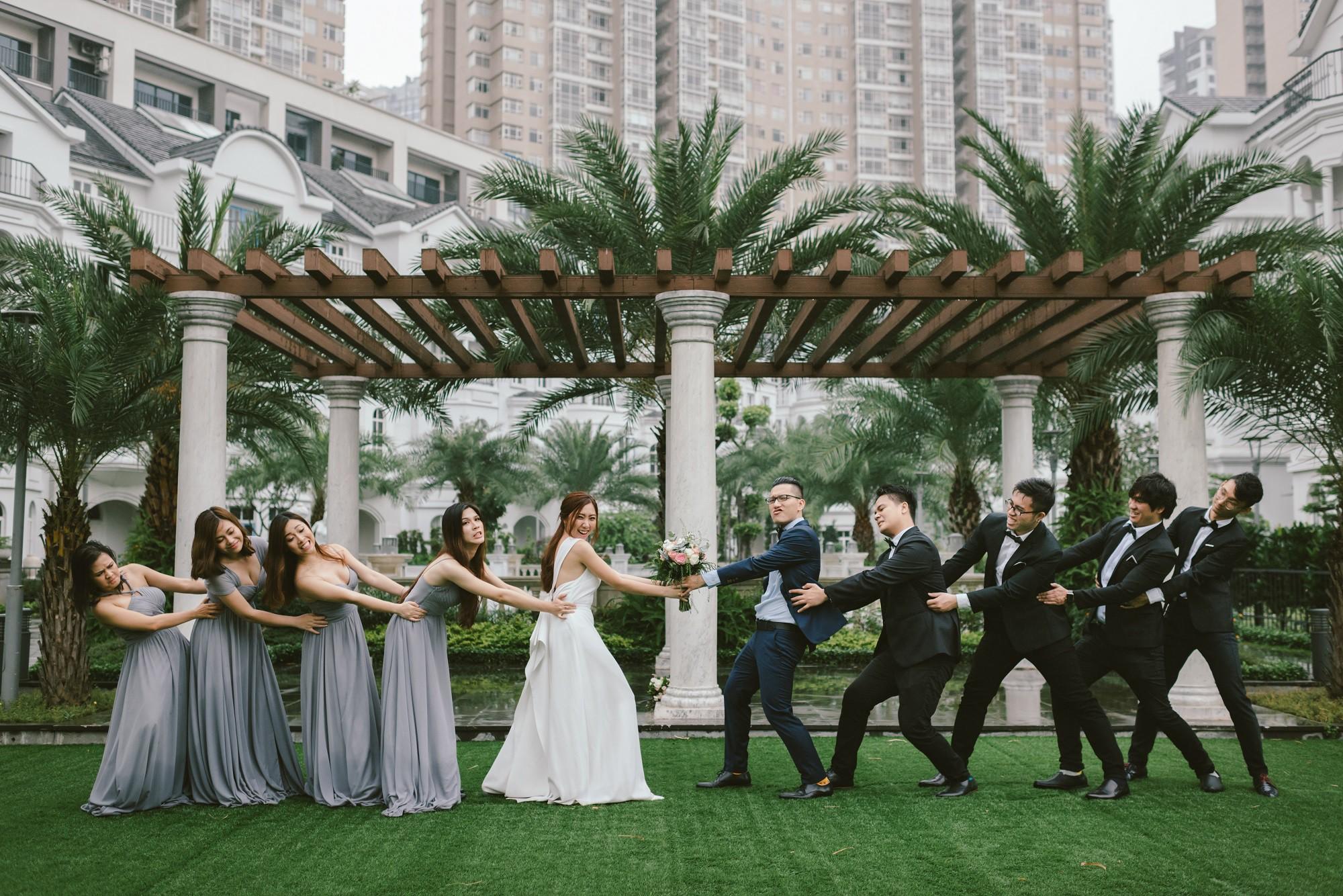 Em gái Trấn Thành kết hôn với bạn trai Hồng Kông, tung bộ ảnh cưới nhắng nhít cùng hội bạn thân - Ảnh 11.