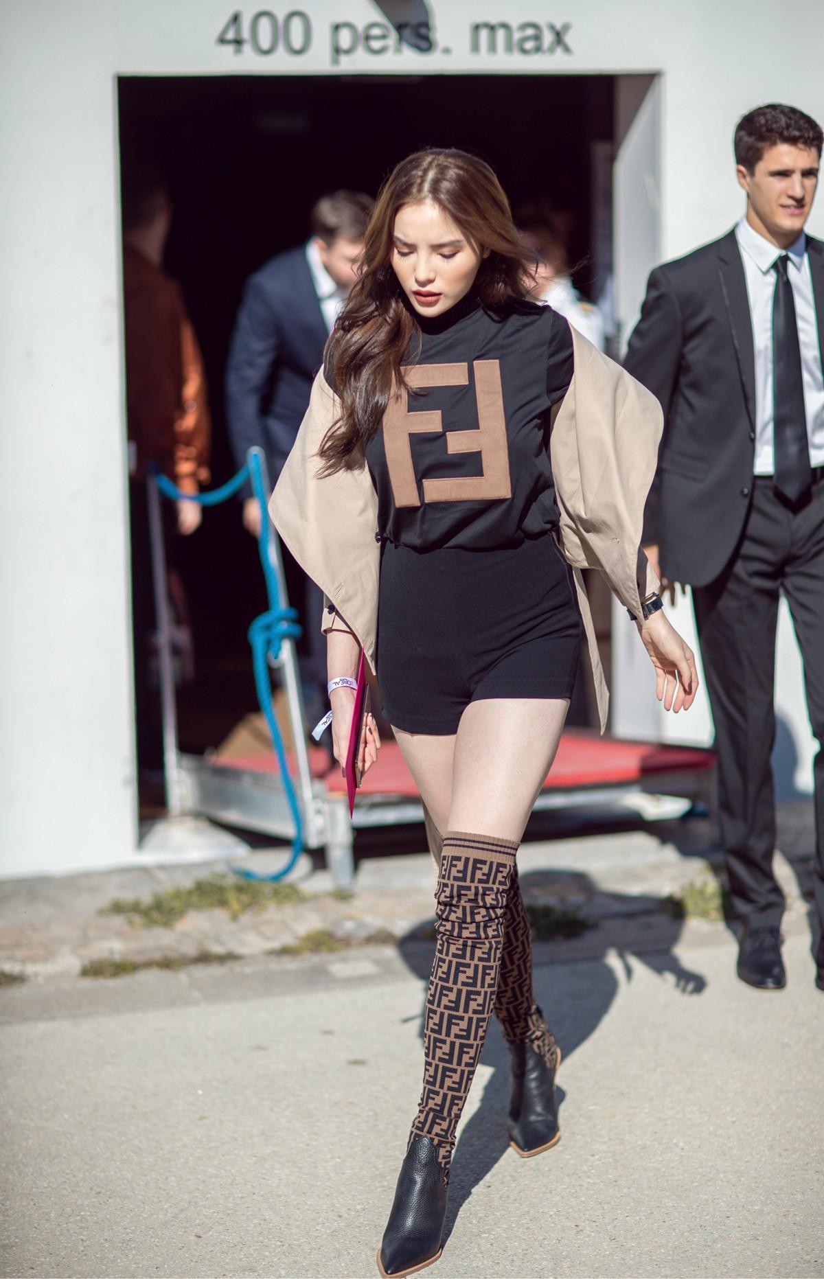 Kỳ Duyên ở Paris: Thần thái sang chảnh ngút ngàn tại show thời trang - Ảnh 6.