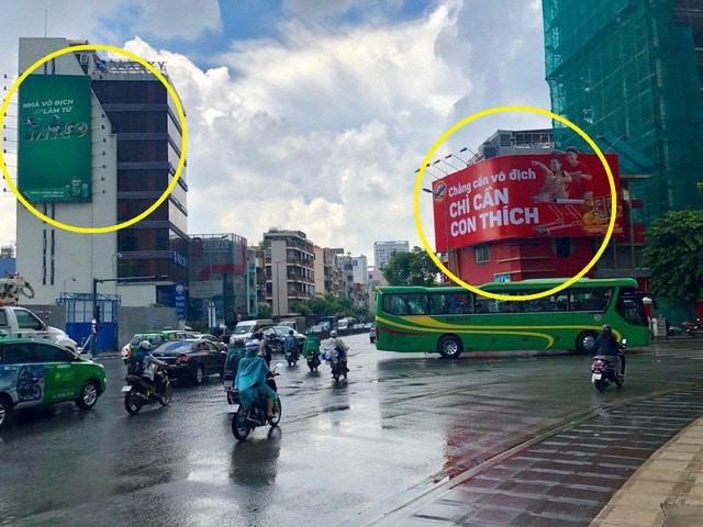 Một trong hai tấm biển quảng cáo nổi tiếng trên MXH tuần qua bất ngờ biến mất - Ảnh 1.