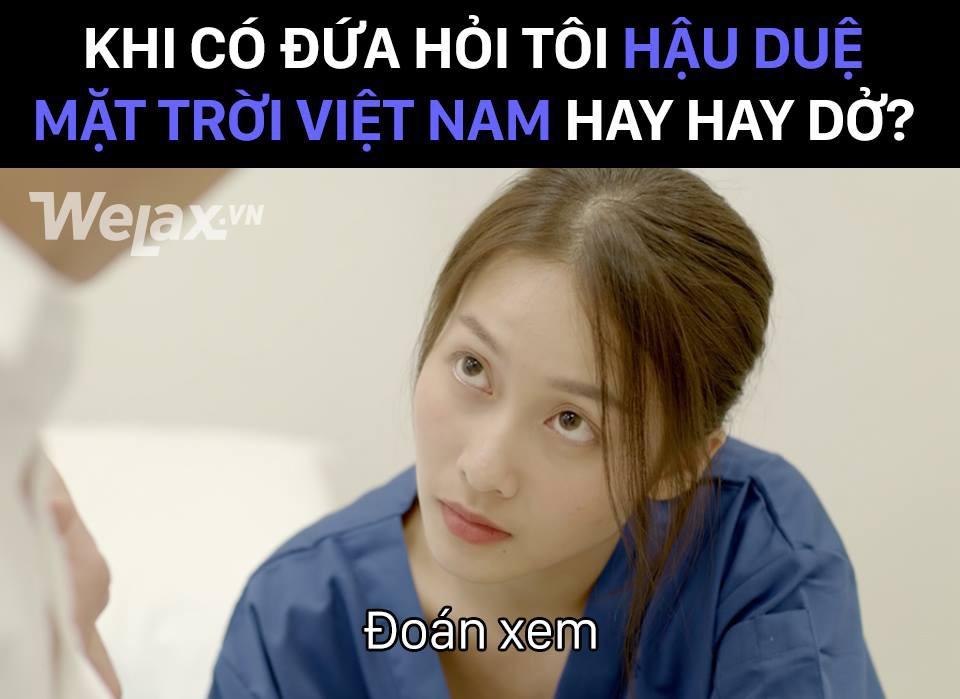 """Hậu Duệ Mặt Trời Việt Nam: Khả Ngân diễn đơ theo trend """"Đoán xem"""" - Ảnh 2."""