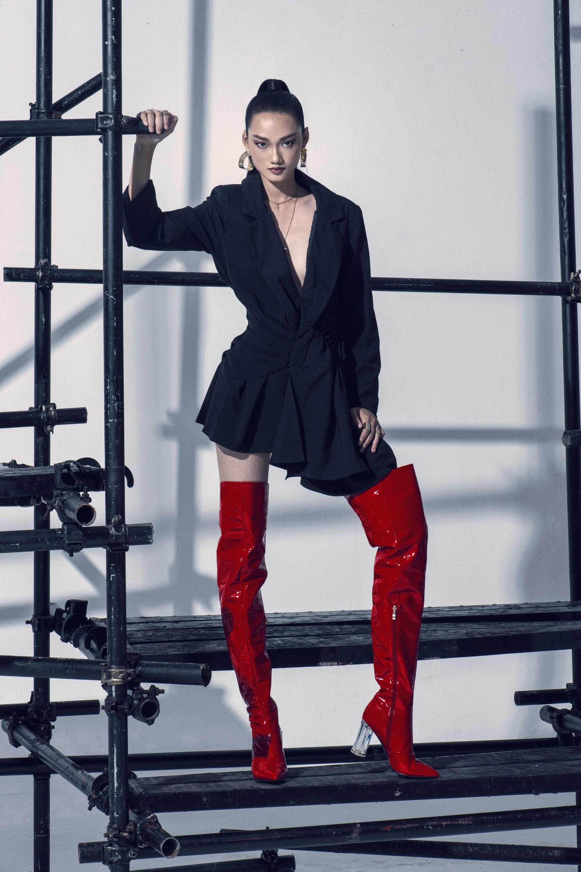 Võ Hoàng Yến ra mắt dàn thí sinh đậm chất thời trang tại The Face Vietnam - Ảnh 11.
