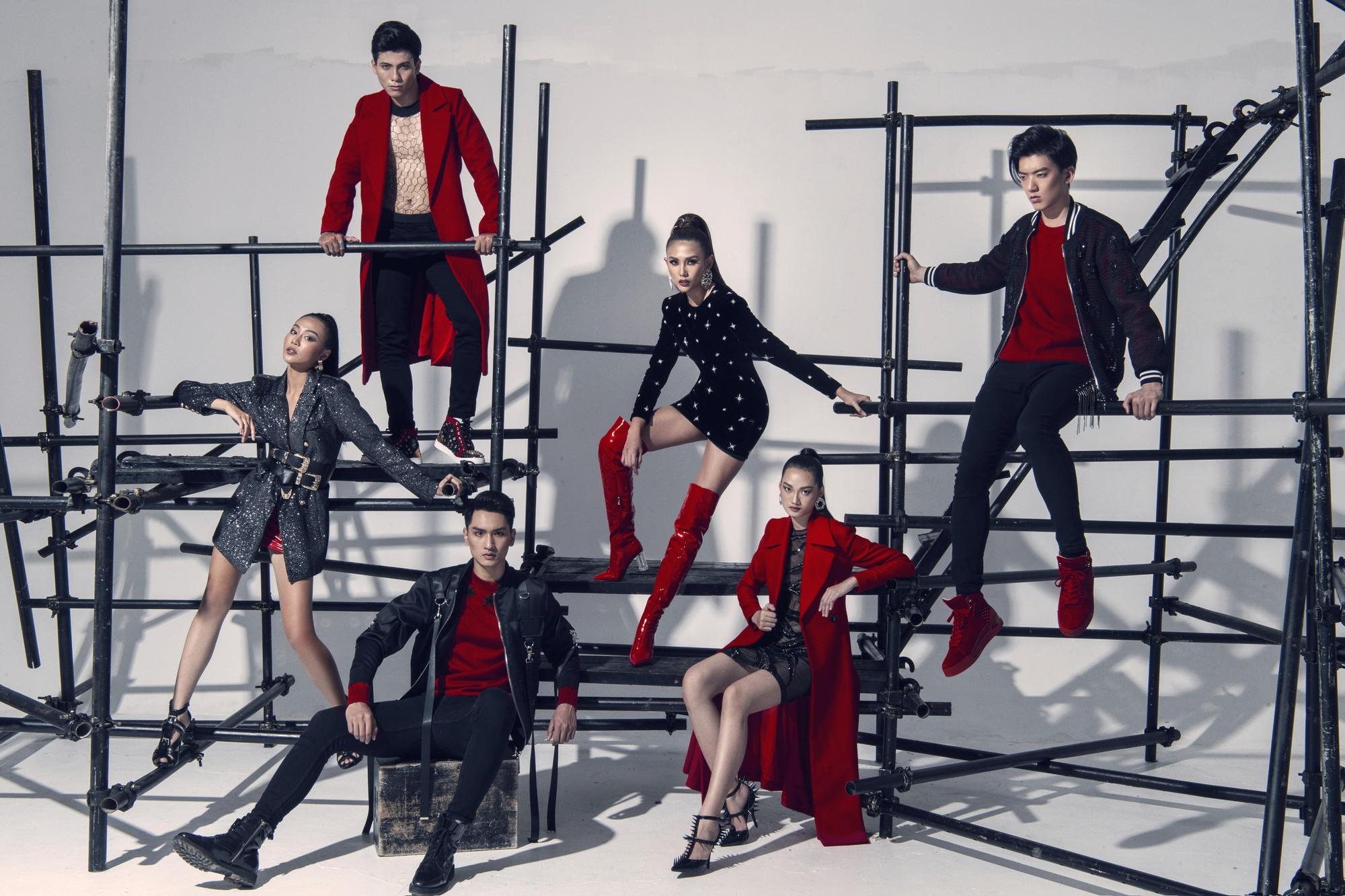 Võ Hoàng Yến ra mắt dàn thí sinh đậm chất thời trang tại The Face Vietnam - Ảnh 3.