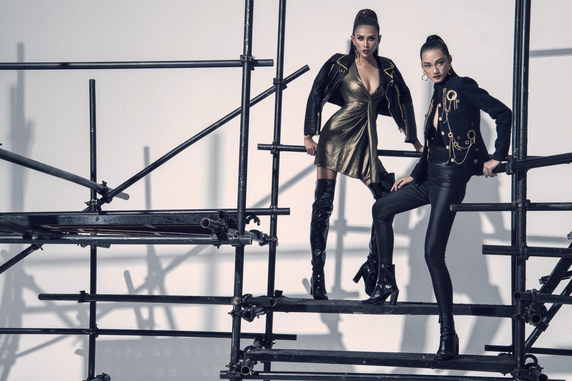 Võ Hoàng Yến ra mắt dàn thí sinh đậm chất thời trang tại The Face Vietnam - Ảnh 10.