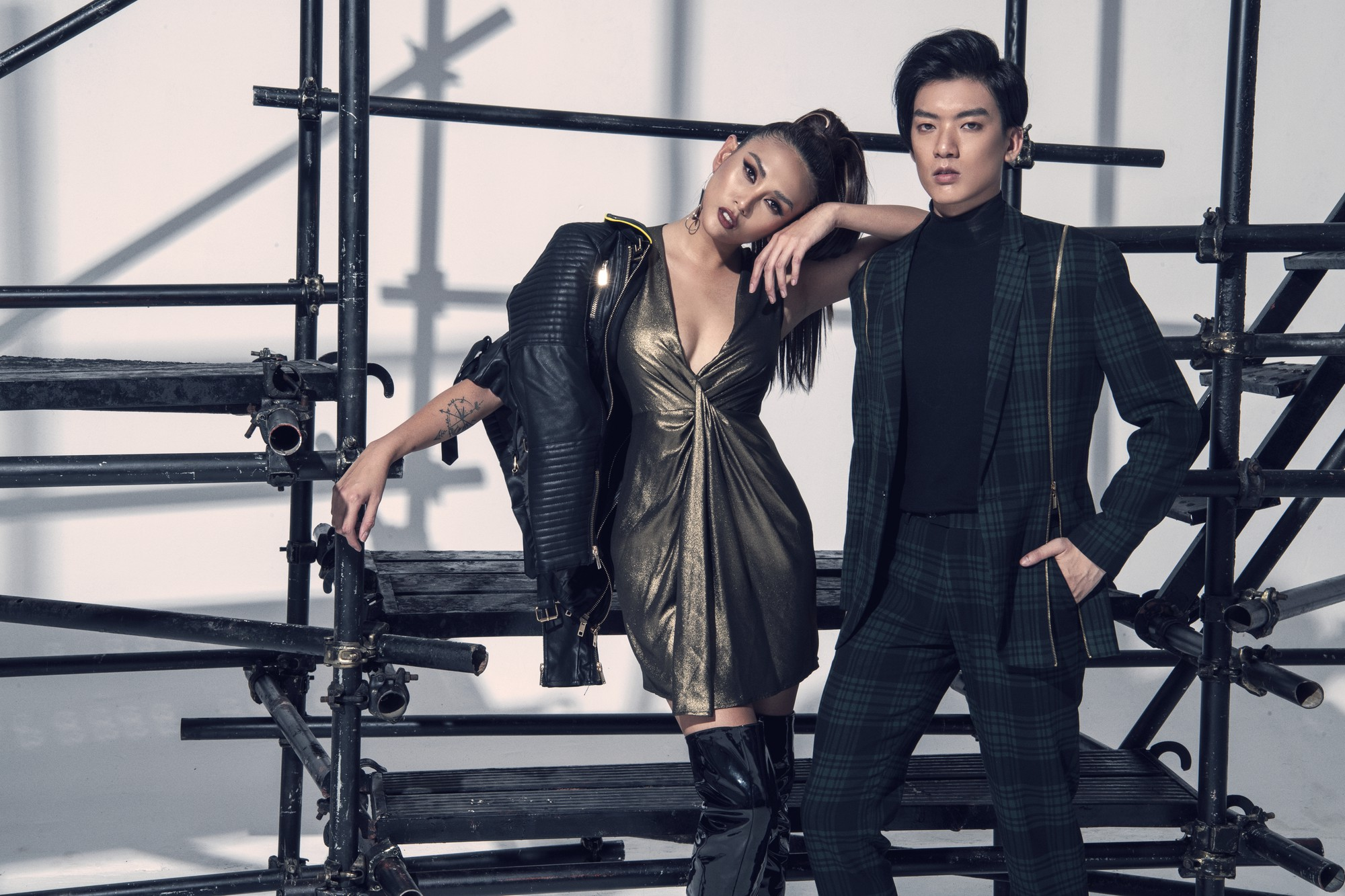 Võ Hoàng Yến ra mắt dàn thí sinh đậm chất thời trang tại The Face Vietnam - Ảnh 4.