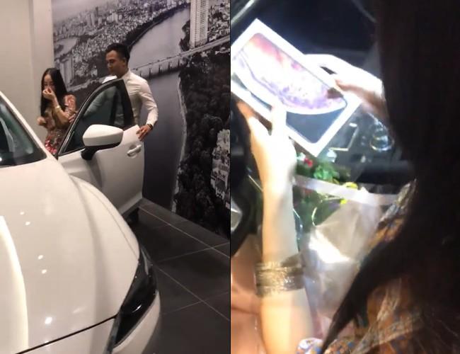 Anh chồng soái ca bí mật mua ô tô, iPhone XS Max tổng trị giá hơn 1 tỷ tặng vợ nhân ngày 20/10 sớm khiến nhiều người xuýt xoa - Ảnh 3.