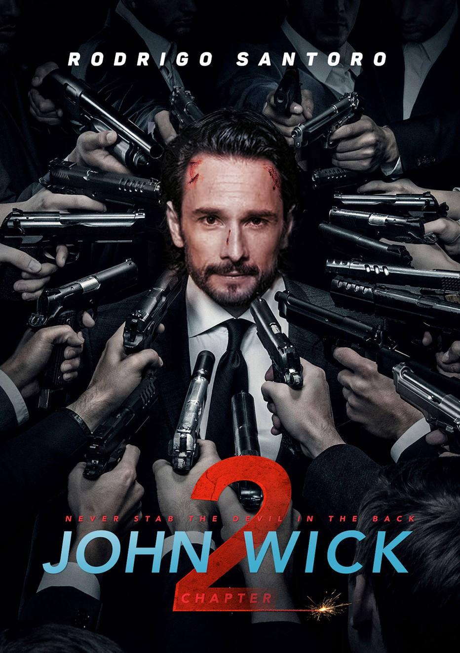 Vừa kiểm duyệt xong, phim kinh dị Việt này lại vướng nghi án đạo nhái poster bom tấn John Wick - Ảnh 3.