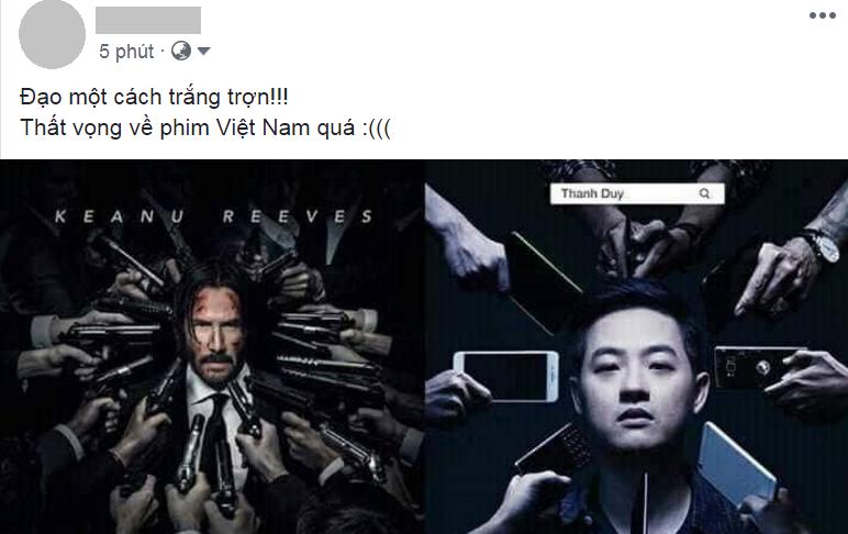 Vừa kiểm duyệt xong, phim kinh dị Việt này lại vướng nghi án đạo nhái poster bom tấn John Wick - Ảnh 4.