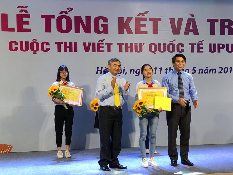 Trả lời câu hỏi Ông già Noel có thực không, nữ sinh Hải Dương giành giải 3 cuộc thi viết thư quốc tế UPU - Ảnh 1.