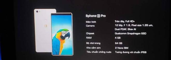 Bphone 3 và Bphone 3 Pro lộ diện trước giờ ra mắt, giá 6.99 và 9.99 triệu đồng - Ảnh 1.