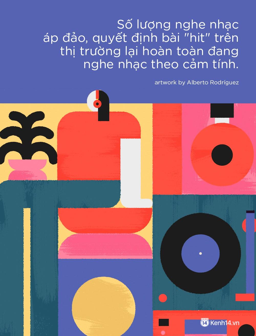 Bảng xếp hạng âm nhạc Việt 2018: Những méo tròn khó hiểu - Ảnh 2.