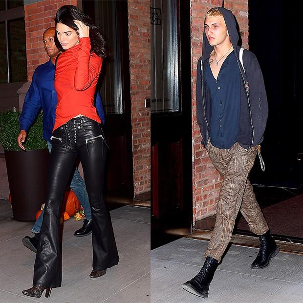 Kendall Jenner bị bắt gặp thả rông vòng 1 và ở cùng khách sạn với em trai Gigi Hadid - Ảnh 4.