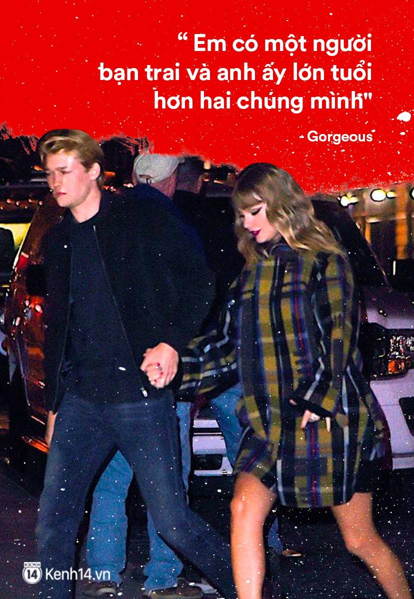 Taylor Swift: Từ nàng rắn với tình sử ồn ào trở thành cô mèo trầm lặng và trưởng thành trong tình yêu - Ảnh 9.