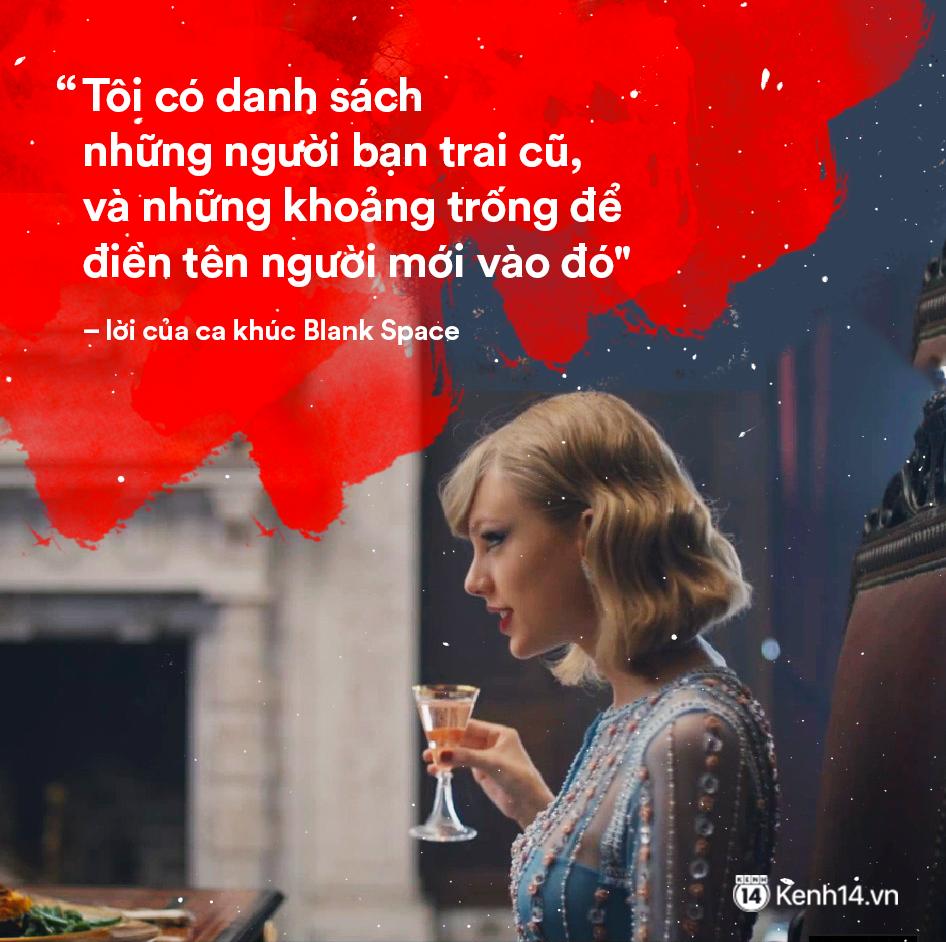 Taylor Swift: Từ nàng rắn với tình sử ồn ào trở thành cô mèo trầm lặng và trưởng thành trong tình yêu - Ảnh 3.