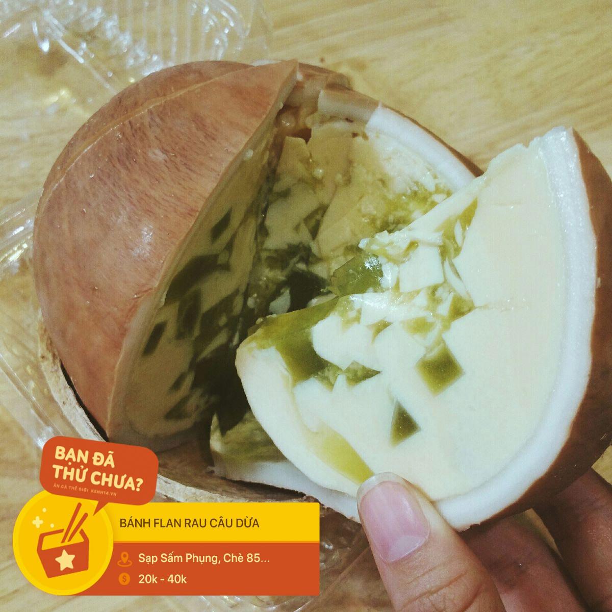 Đừng nghĩ Sài Gòn chỉ có mỗi bánh flan trứng, còn hàng tá phiên bản khác sẽ làm bạn bất ngờ đấy - Ảnh 6.