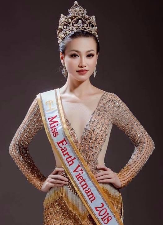 Clip: Đại diện Việt Nam giành huy chương vàng phần thi trình diễn trang phục dân tộc tại Miss Earth 2018 - Ảnh 4.