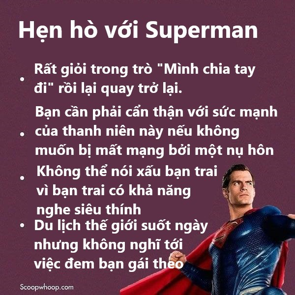 Mơ được hẹn hò với siêu anh hùng ư? Hãy cẩn thận vì chơi lớn với các anh chàng không vui như bạn tưởng đâu! - Ảnh 5.