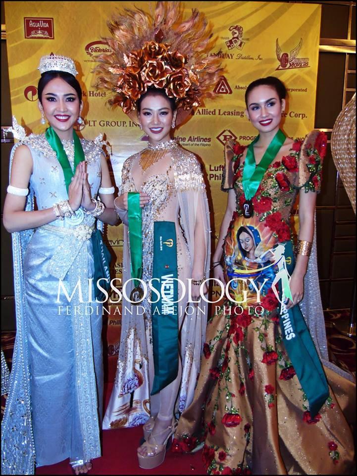 Clip: Đại diện Việt Nam giành huy chương vàng phần thi trình diễn trang phục dân tộc tại Miss Earth 2018 - Ảnh 1.