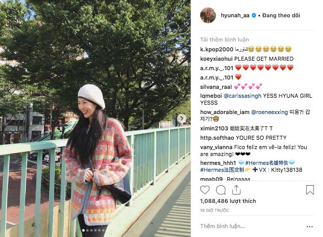 Hyuna đạt kỷ lục triệu like sau chưa đầy 24h nhờ đăng ảnh hẹn hò với EDawn, sao Việt cũng thả tim cho cặp đôi - Ảnh 1.