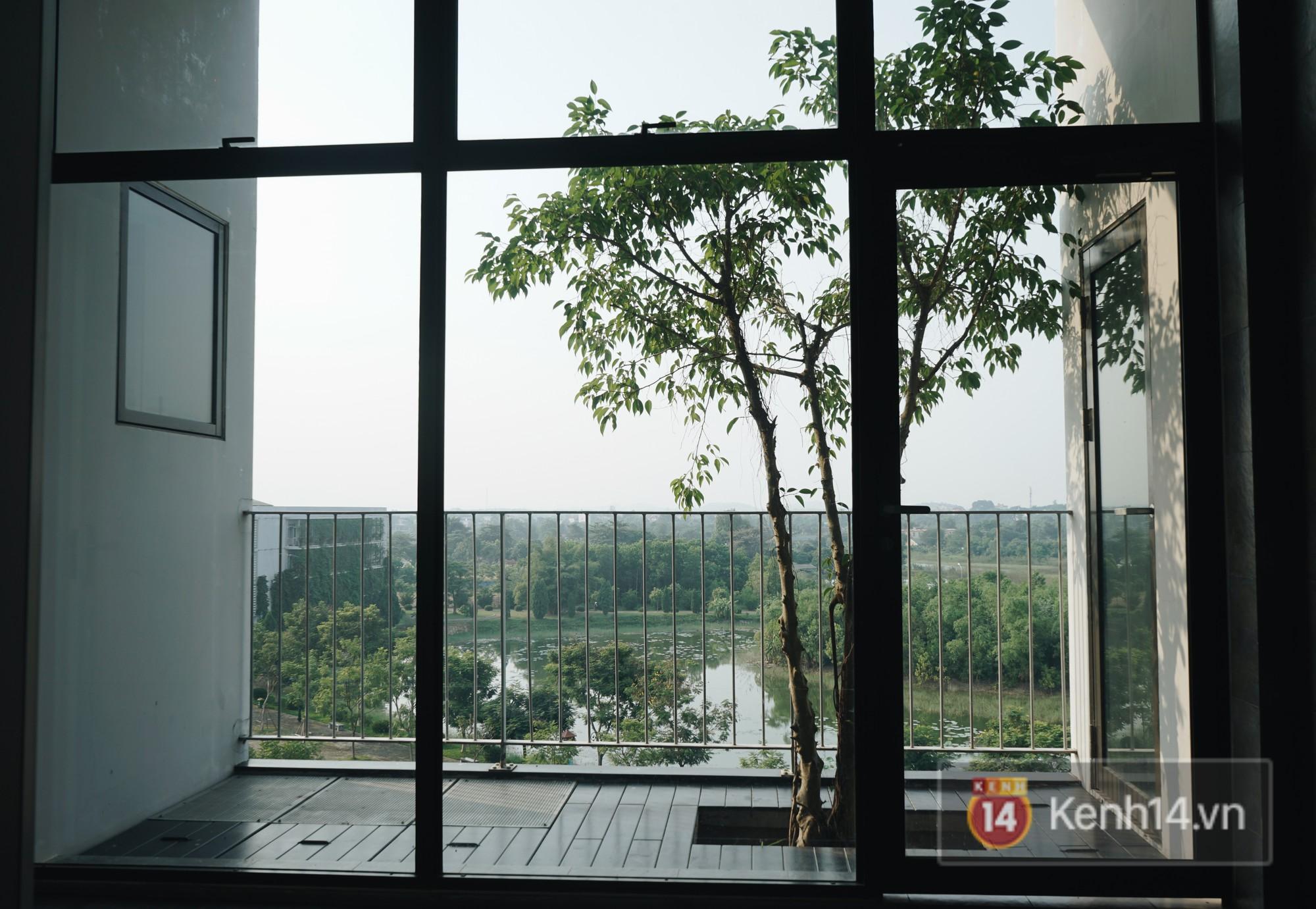 Nhà vệ sinh lộ thiên sang chảnh như khách sạn của Đại học FPT: Vừa giải quyết nỗi buồn vừa ngắm mây trời, hoa lá - Ảnh 3.