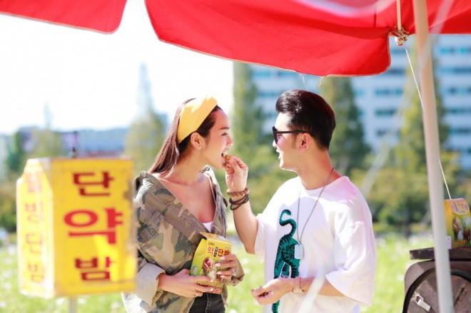 Ưng Hoàng Phúc - Kim Cương ngọt ngào khóa môi tại Hàn Quốc - Ảnh 3.