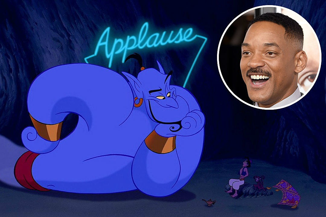 Lộ diện poster Aladdin lung linh huyền ảo, vai Thần Đèn về tay Will Smith - Ảnh 3.