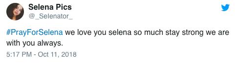 Đồng nghiệp và người hâm mộ đồng loạt cầu nguyện cho Selena Gomez khi cô nhập viện điều trị tâm thần - Ảnh 5.