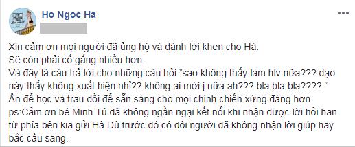 Hồ Ngọc Hà gửi lời cảm ơn Minh Tú vì đã kết nối mình với Asias Next Top Model - Ảnh 2.