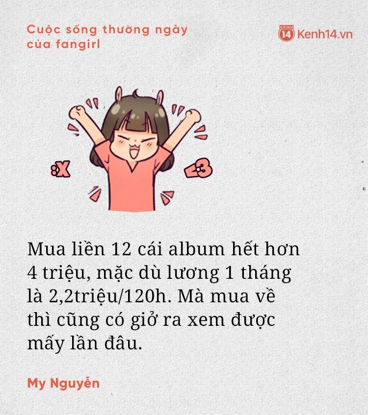 Ngớ ngẩn mà đáng yêu như fangirl: Tiền ăn không có, nhưng sinh nhật idol vẫn tổ chức ầm ầm - Ảnh 5.