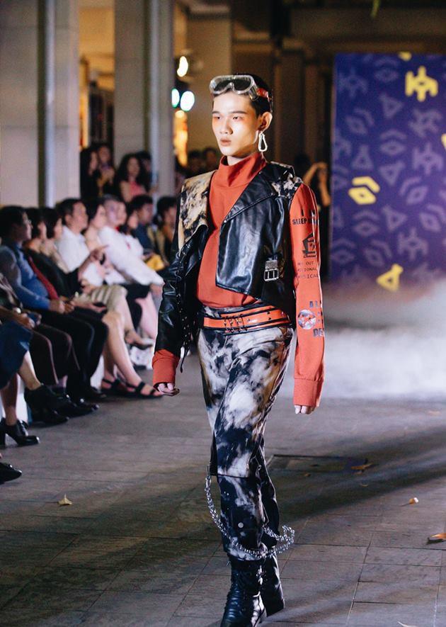 Đã mắt với những thiết kế ấn tượng không thua kém bất cứ sàn diễn quốc tế nào của sinh viên Thiết kế Thời trang, Đại học Kiến trúc Thành phố Hồ Chí Minh - Ảnh 5.