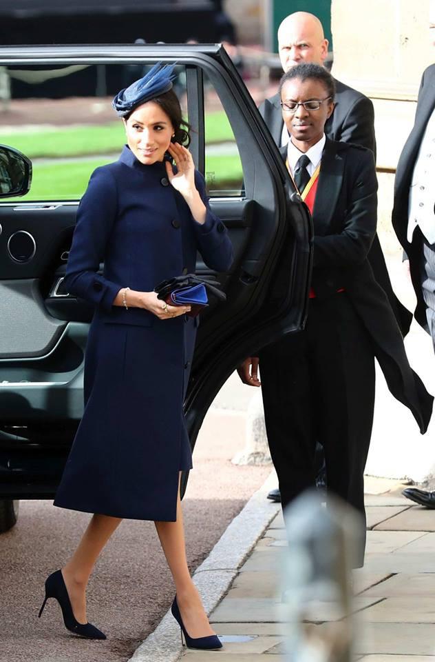 Những hình ảnh trong đám cưới cổ tích của Công chúa Eugenie - cháu gái Nữ hoàng Anh - Ảnh 6.
