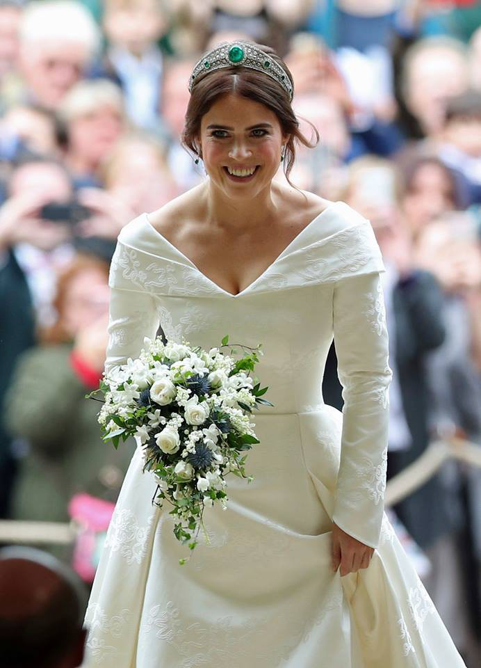 Những hình ảnh trong đám cưới cổ tích của Công chúa Eugenie - cháu gái Nữ hoàng Anh - Ảnh 12.