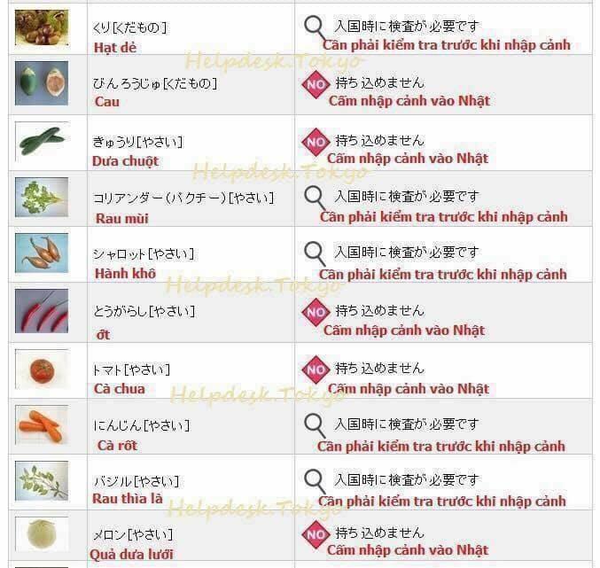 Hải quan Nhật Bản áp dụng luật cấm: Du học sinh, khách du lịch không được mang theo đồ ăn, hoa quả khi nhập cảnh - Ảnh 6.