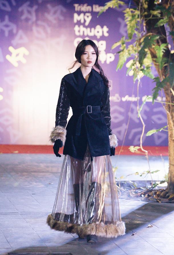 Đã mắt với những thiết kế ấn tượng không thua kém bất cứ sàn diễn quốc tế nào của sinh viên Thiết kế Thời trang, Đại học Kiến trúc Thành phố Hồ Chí Minh - Ảnh 36.