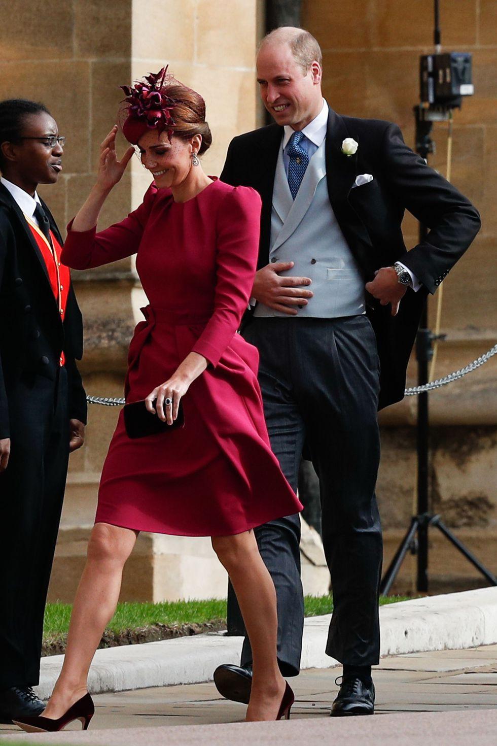 Đám cưới Công chúa Eugenie: Cara Delevingne chơi trội diện đồ nam, làm lu mờ cả Công nương Kate và Meghan - Ảnh 3.