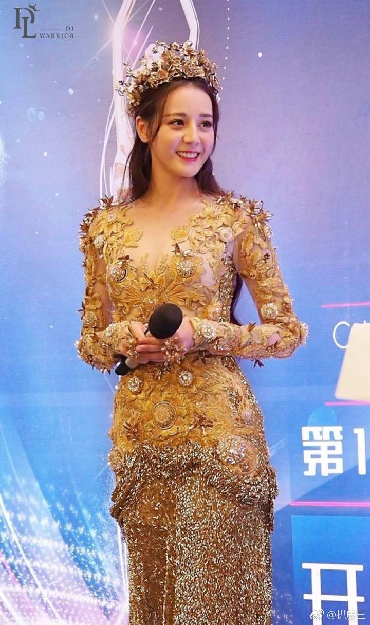 Mỹ nhân cực phẩm nhất đêm nay: Địch Lệ Nhiệt Ba hoá thân thành Nữ thần Kim Ưng, xuất sắc như tiên giáng trần - Ảnh 12.