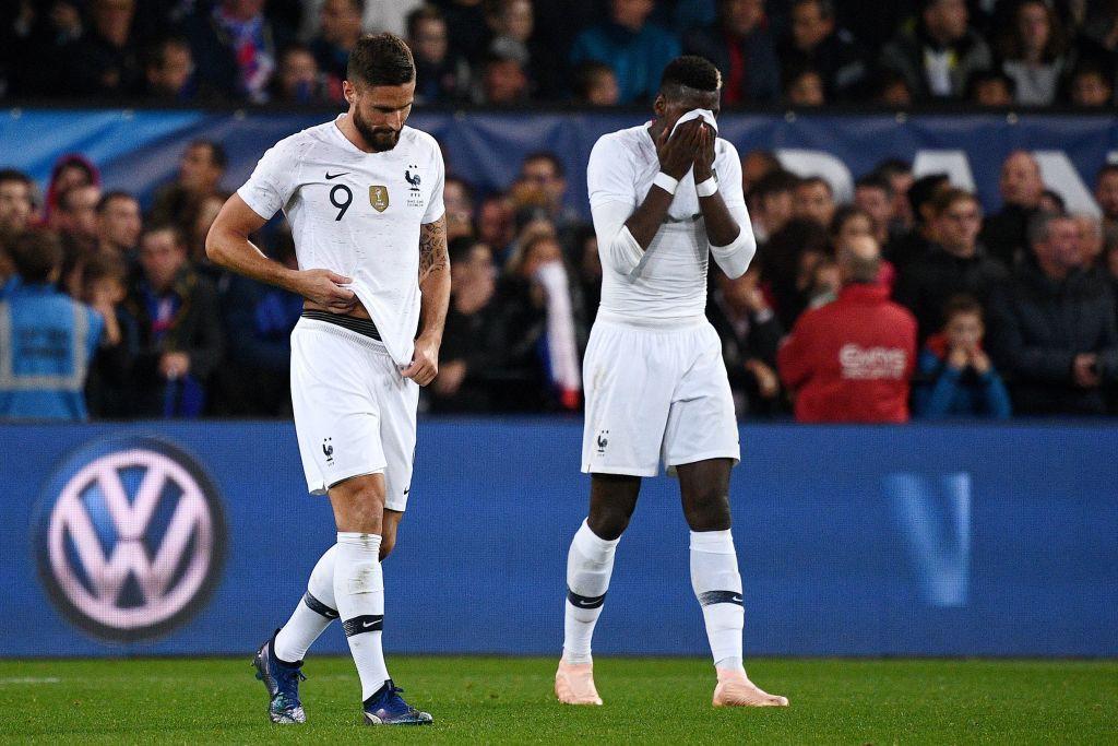 Nhà vô địch thế giới Pháp thoát thua hú vía nhờ bàn thắng phút 90 của Mbappe - Ảnh 4.