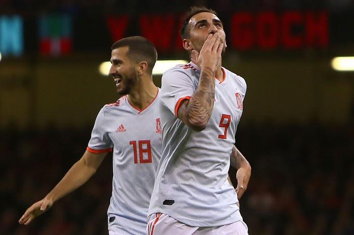 Đồng đội cũ của Messi tỏa sáng, Tây Ban Nha hủy diệt xứ Wales 4-1 - Ảnh 2.