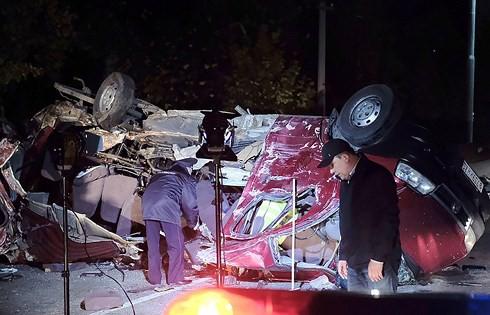 Tai nạn đường bộ, 11 người chết tại Nga - Ảnh 1.