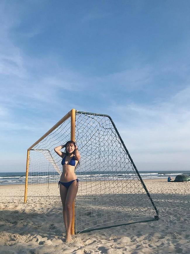 Bạn gái thủ môn Lâm Tây lột xác ấn tượng nhờ giảm 11kg - Ảnh 2.