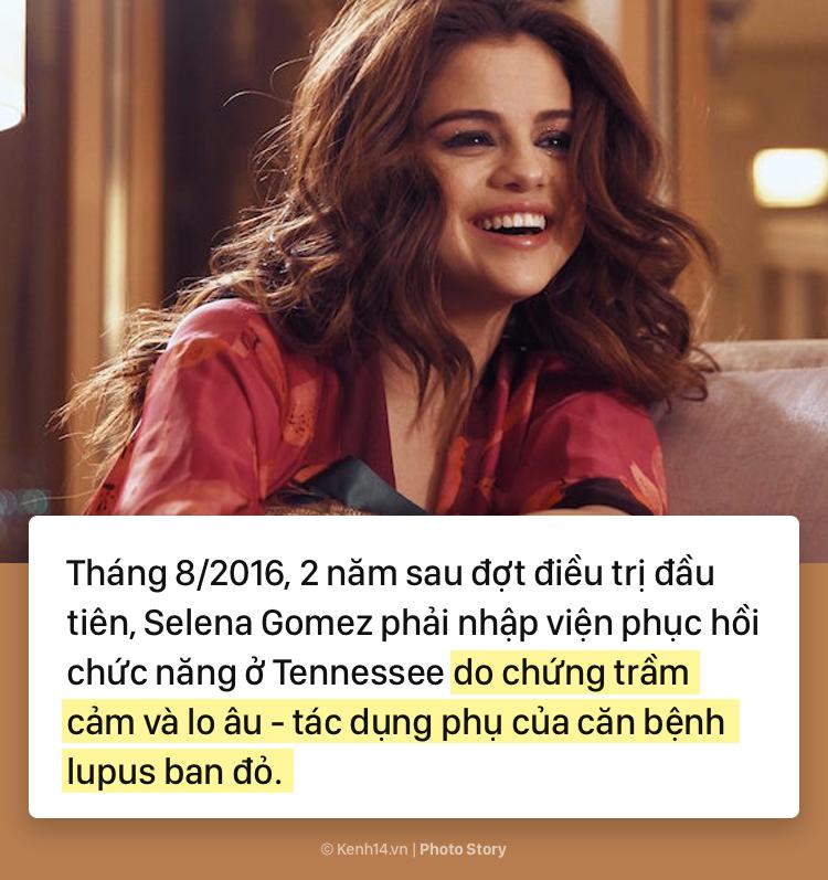 Selena Gomez và hành trình 5 năm chống chọi với căn bệnh lupus ban đỏ kèm di chứng - Ảnh 3.