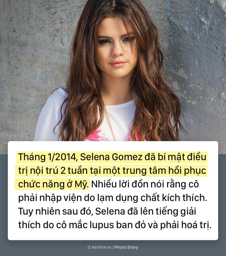 Selena Gomez và hành trình 5 năm chống chọi với căn bệnh lupus ban đỏ kèm di chứng - Ảnh 1.