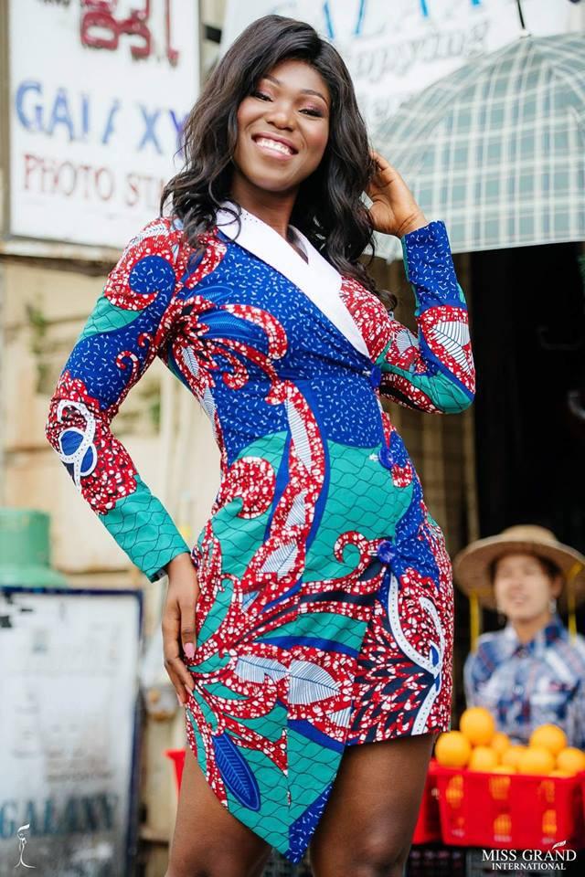 Nhờ sự cổ vũ nhiệt tình của fan Việt, Phương Nga vào Top 9 chụp ảnh chân dung tại Miss Grand International 2018 - Ảnh 8.