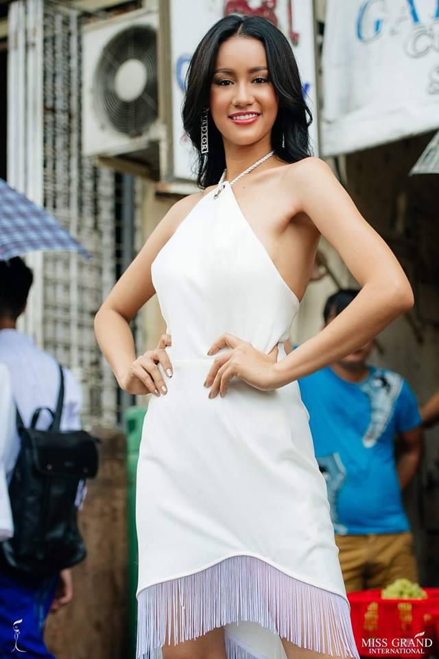 Nhờ sự cổ vũ nhiệt tình của fan Việt, Phương Nga vào Top 9 chụp ảnh chân dung tại Miss Grand International 2018 - Ảnh 5.