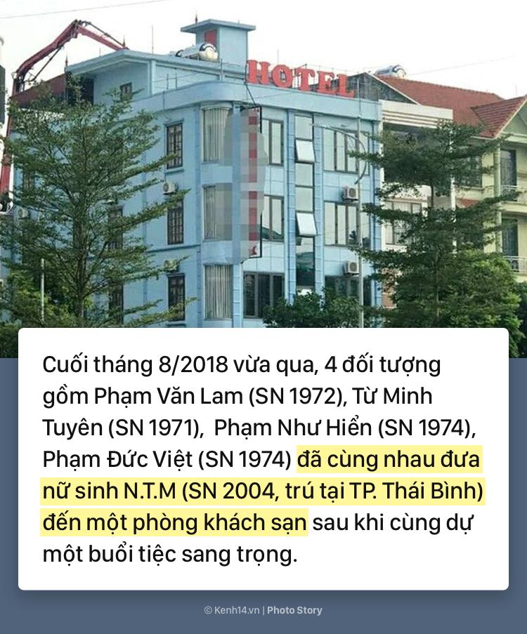 Toàn cảnh vụ án hiếp dâm, dâm ô tập thể nữ sinh lớp 9 ở Thái Bình - Ảnh 3.