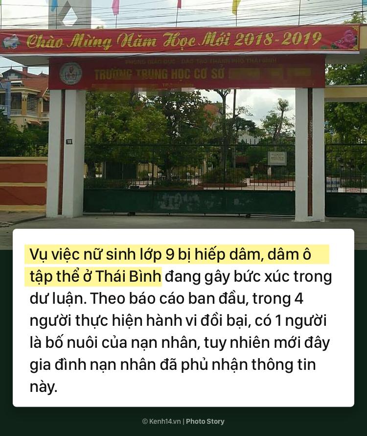Toàn cảnh vụ án hiếp dâm, dâm ô tập thể nữ sinh lớp 9 ở Thái Bình - Ảnh 1.