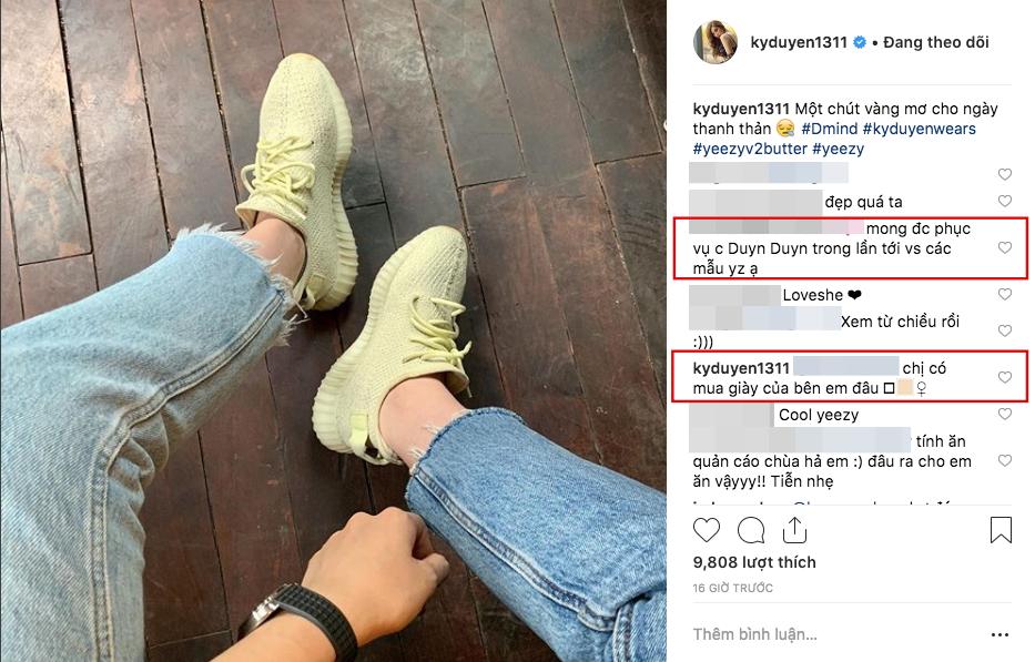 Kỳ Duyên tiếp tục bàn phím chiến trên instagram, lần này là đối phó với shop online bình luận quảng cáo gây hiểu lầm - Ảnh 2.